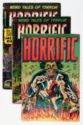 Golden Age (1938-1955):Horror, Horrific Group (Comic Media, 1952-54) Condition: Average GD/VGexcept as noted.... (Total: 8 Comic Books)