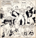 "Original Comic Art:Splash Pages, Bob Montana Jackpot Comics #5 ""Trip to Bear Mountain"" ArchieSplash Page 1 Original Art (MLJ, 1942)...."