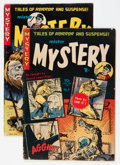 Golden Age (1938-1955):Science Fiction, Mister Mystery #9 and 10 Group (Aragon, 1953) Condition: AverageVG.... (Total: 2 Comic Books)