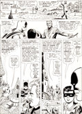 "Original Comic Art:Panel Pages, Carmine Infantino and Joe Giella Detective Comics #329 ""NewLook"" Batman Page 4 Original Art (DC, 1964)...."