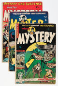 Golden Age (1938-1955):Science Fiction, Mister Mystery #14, 15, and 19 Group (Aragon, 1953-54).... (Total:3 Comic Books)