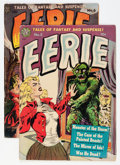 Golden Age (1938-1955):Horror, Eerie #3 and 6 Group (Avon, 1951-52) Condition: Average GD/VG....(Total: 2 Comic Books)