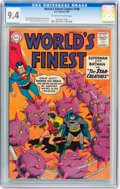 Silver Age (1956-1969):Superhero, World's Finest Comics #108 (DC, 1960) CGC NM 9.4 Off-white to white pages....