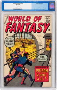 World of Fantasy #16 (Atlas, 1959) CGC NM- 9.2 Off-white to white pages