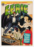 Golden Age (1938-1955):Horror, Eerie #7 (Avon, 1952) Condition: FN-....