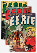Golden Age (1938-1955):Horror, Eerie #13 and 15-17 Group (Avon, 1953-54).... (Total: 4 ComicBooks)