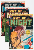 Golden Age (1938-1955):Horror, Out of the Night Group (ACG, 1952-54).... (Total: 15 Comic Books)