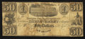 Obsoletes By State:Louisiana, New Orleans, LA- New Orleans Improvement & Banking Company/Banque des Ameliorations $50 circa 1840. ...