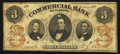 Obsoletes By State:Alabama, Selma, AL- Commercial Bank of Alabama $3 Dec. 9, 1861. ...