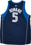 Basketball Collectibles:Uniforms, Josh Howard Signed Dallas Mavericks Jerseys Lot of 2....