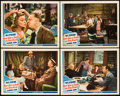 "Movie Posters:Comedy, Never Give a Sucker an Even Break (Universal, 1941). Lobby Cards(4) (11"" X 14"").. ... (Total: 4 Items)"