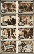 "Movie Posters:Serial, The Green Hornet Strikes Again (Universal, 1941). Lobby Card Set of 8 (11"" X 14""). Chapter 11 -- ""Thieves of the Night."". ... (Total: 9 Items)"