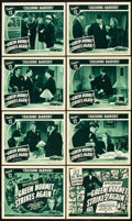 "Movie Posters:Serial, The Green Hornet Strikes Again (Universal, 1941). Lobby Card Set of8 (11"" X 14""). Chapter 12 -- ""Crashing Barriers."". ... (Total: 9Items)"