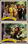 "Movie Posters:Horror, The Mummy's Hand (Universal, 1940). Lobby Cards (2) (11"" X 14"")..... (Total: 2 Items)"