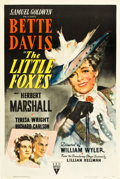 "Movie Posters:Drama, The Little Foxes (RKO, 1941). One Sheet (27"" X 41"").. ..."