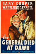 "Movie Posters:Adventure, The General Died at Dawn (Paramount, 1936). One Sheet (27"" X 41"")Style A.. ..."
