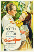 "Movie Posters:Drama, We Live Again (United Artists, 1934). One Sheet (27"" X 41"").. ..."