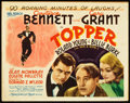 "Movie Posters:Comedy, Topper (MGM, 1937). Title Lobby Card (11"" X 14"").. ..."
