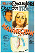 "Movie Posters:Drama, Mannequin (MGM, 1937). One Sheet (26.5"" X 40.5"") Style C.. ..."
