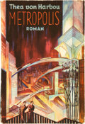 "Movie Posters:Science Fiction, Metropolis (August Scherl, Berlin, 1926). First Edition GermanPaperback Edition Photoplay Book (5"" X 7"", 194 pages).. ..."