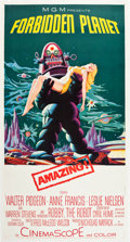 "Movie Posters:Science Fiction, Forbidden Planet (MGM, 1956). Three Sheet (41.75"" X 78.5"").. ..."