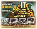 """Movie Posters:Science Fiction, It Came from Outer Space (Universal International, 1953). HalfSheet (22"""" X 28"""") 3-D Style A.. ..."""