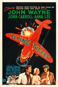 "Movie Posters:War, Flying Tigers (Republic, 1942). One Sheet (27"" X 41"") Style A.. ..."