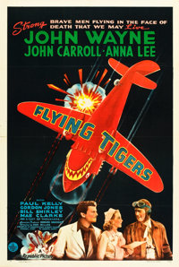 "Flying Tigers (Republic, 1942). One Sheet (27"" X 41"") Style A"