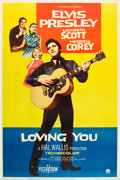 "Movie Posters:Elvis Presley, Loving You (Paramount, 1957). Poster (40"" X 60"") Style Y.. ..."