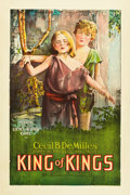 "Movie Posters:Historical Drama, The King of Kings (Pathé, 1927). One Sheet (27"" X 41"").. ..."