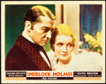 "Movie Posters:Mystery, Sherlock Holmes (Fox, 1932). Lobby Card (11"" X 14"").. ..."