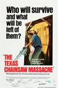 "Movie Posters:Horror, The Texas Chainsaw Massacre (Bryanston, 1974). Autographed OneSheet (27"" X 41"").. ..."