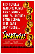 "Movie Posters:Action, Spartacus (Universal International, 1960). Roadshow Autographed OneSheet (27"" X 41"").. ..."