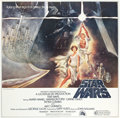 "Movie Posters:Science Fiction, Star Wars (20th Century Fox, 1977). International Six Sheet (76"" X77"").. ..."