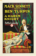 "Movie Posters:Comedy, A Harem Knight (Pathé, 1926). One Sheet (27"" X 41"").. ..."