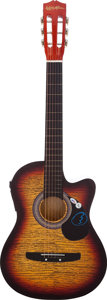 Music Memorabilia:Autographs and Signed Items, Steve Winwood Signed Guitar. ...