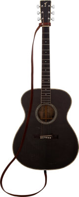 Johnny Cash Personally-Owned and Stage-Played Guitar Made by Danny Ferrington