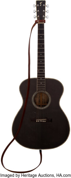 f4a8444d2dd ... Music Memorabilia:Instruments , Johnny Cash Personally-Owned and  Stage-Played Guitar Made ...