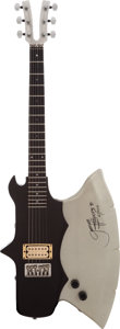 "Music Memorabilia:Autographs and Signed Items, Kiss Related - Gene Simmons Signed Limited Edition Kramer ""Axe""Guitar...."