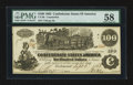 Confederate Notes:1862 Issues, CT-39 Counterfeit $100 1862. ...