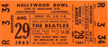 Music Memorabilia:Tickets, Beatles Hollywood Bowl 1965 Unused Concert Ticket....