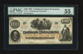 Confederate Notes:1862 Issues, CT-41 Counterfeit $100 1862. ...