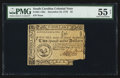 Colonial Notes:South Carolina, South Carolina December 23, 1776 $2 PMG About Uncirculated 55 Net.....