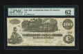 Confederate Notes:1862 Issues, T39 $100 1862 PF-9 Cr. UNL.. ...