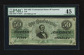 Confederate Notes:1862 Issues, T50 $50 1862 PF-8 Cr. 354.. ...
