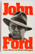 Books:Biography & Memoir, Joseph McBride, et al. INSCRIBED. John Ford. Da Capo, 1988.Third printing. Signed and inscribed by the author. ...