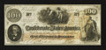 Confederate Notes:1862 Issues, T41 $100 1862 PF-61 Cr. 328A.. ...