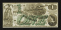 Confederate Notes:1862 Issues, CT45/342 Counterfeit $1 1862.. ...