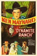 "Movie Posters:Western, Dynamite Ranch (K-B-S, 1932). One Sheet (27"" X 41"").. ..."