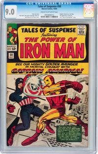 Tales of Suspense #58 (Marvel, 1964) CGC VF/NM 9.0 Cream to off-white pages